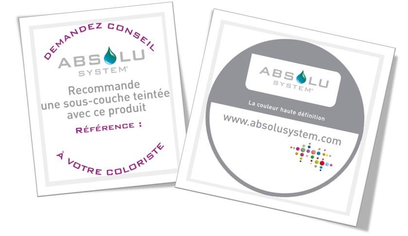 Etiquettes Absolu System